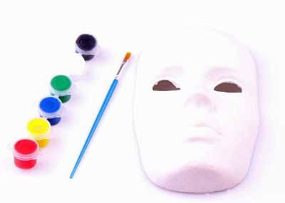 Maske Boyama Seti 999 Tl Firsatcaddesicomda