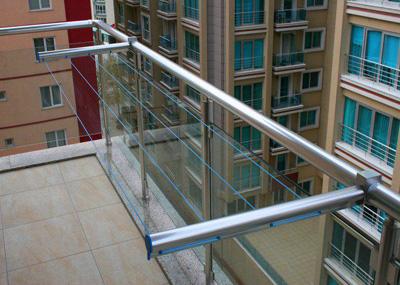 Alüminyum balkon çamaşırlık